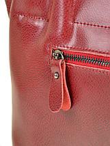 Сумка Женская Классическая кожа ALEX RAI 10-03 8546 wine-red, фото 2