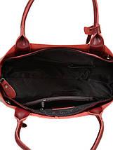 Сумка Женская Классическая кожа ALEX RAI 10-03 8546 wine-red, фото 3
