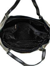 Сумка Женская Классическая кожа ALEX RAI 10-03 8622 black, фото 3