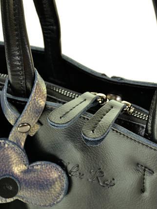 Сумка Женская Классическая кожа ALEX RAI 10-03 8682 black, фото 2