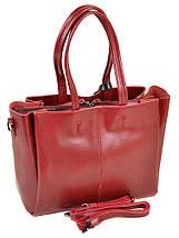 Сумка Женская Классическая кожа ALEX RAI 10-03 8682 colored-red, фото 2