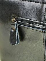 Сумка Женская Классическая кожа ALEX RAI 10-03 J002 black, фото 2
