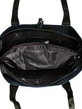 Сумка Женская Классическая кожа ALEX RAI 10-03 J002 black, фото 3