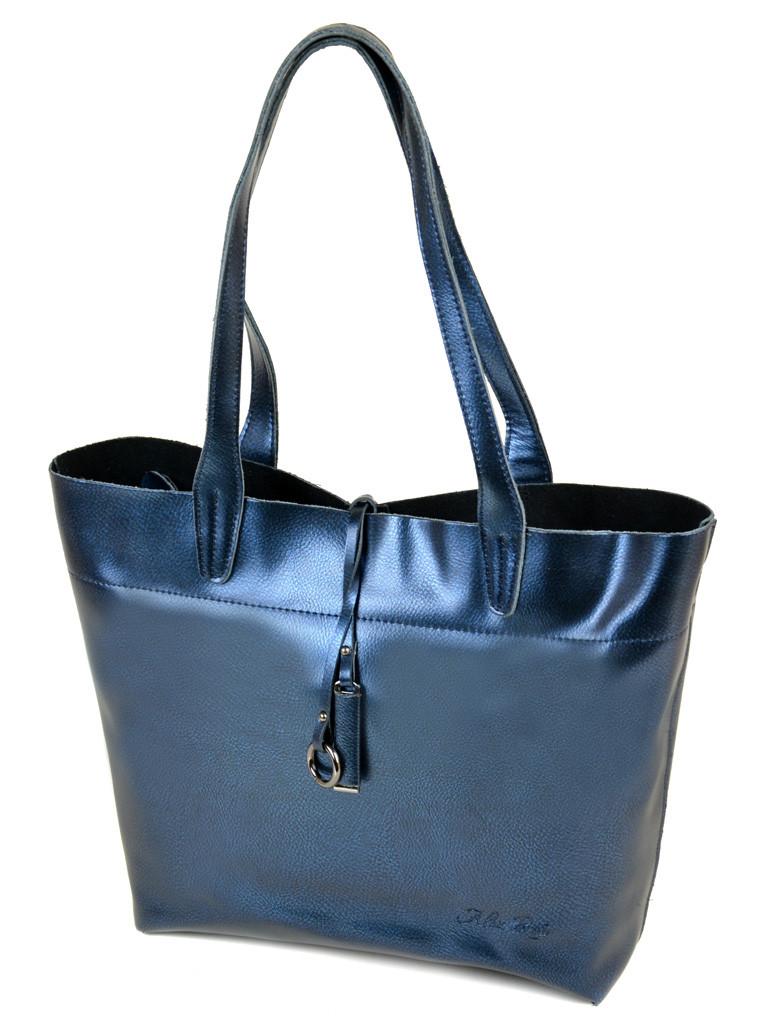 Сумка Женская Классическая кожа ALEX RAI 10-03 J002 blue