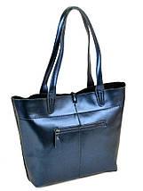 Сумка Женская Классическая кожа ALEX RAI 10-03 J002 blue, фото 2