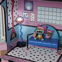 Домик для кукол ЛОЛ Сюрприз Модный особняк с бассейном и с семьей лол - LOL Surprise House 555001, фото 3