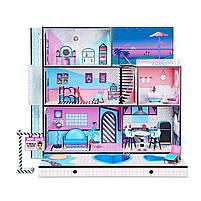 Домик для кукол ЛОЛ Сюрприз Модный особняк с бассейном и с семьей лол - LOL Surprise House 555001, фото 2