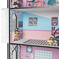 Домик для кукол ЛОЛ Сюрприз Модный особняк с бассейном и с семьей лол - LOL Surprise House 555001, фото 6