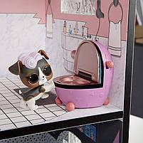 Домик для кукол ЛОЛ Сюрприз Модный особняк с бассейном и с семьей лол - LOL Surprise House 555001, фото 7