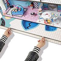 Домик для кукол ЛОЛ Сюрприз Модный особняк с бассейном и с семьей лол - LOL Surprise House 555001, фото 8