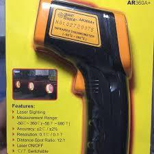 Термометр пирометр WH380