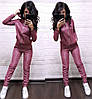 Жіночий спортивний костюм на блискавки в кольорах. ТУ-8-0319, фото 3