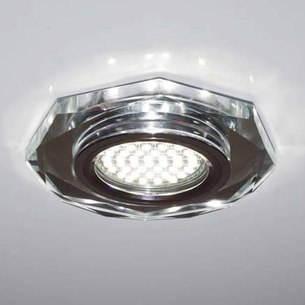 Светильник встраиваемый с LED подсветкой Feron 8020-2 под лампу Mr16, фото 2
