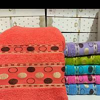 Полотенца махровые банные 70×140. Турция.