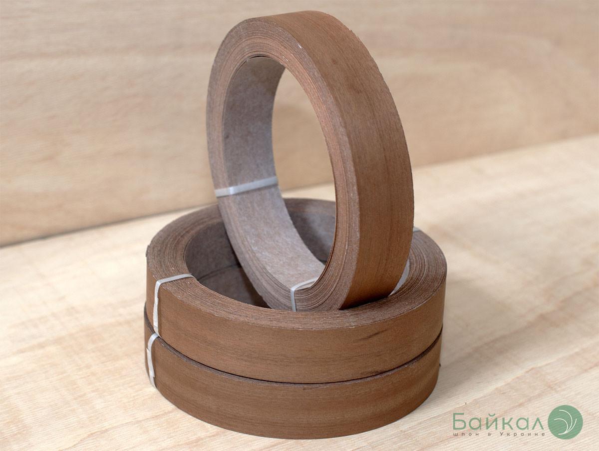 Кромка мебельная Сапели(натуральная) - без клея