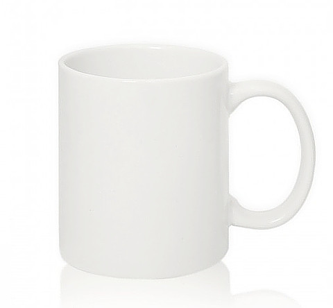 Чашка сублимационная, фарфор, 340 мл