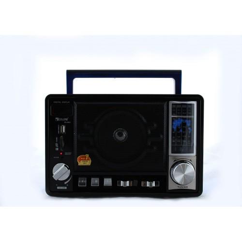 Радиоприемник колонка MP3 Golon RX-950 черная