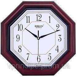 Часы Rikon 4851 Red 275х275мм 6-гран.