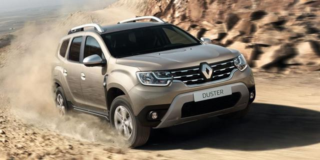 Renault Duster 2018+ г.в.