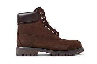 "Мужские зимние ботинки Timberland ""Brown"" (люкс копия)"