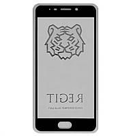 Защитное стекло 5D Full Glue TIGER для Meizu M6 Note Black (Screen Protector 0,3 мм)