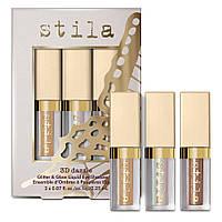 Набор жидких теней-глиттеров Stila Cosmetics 3D Dazzle Liquid Eye Shadow Set