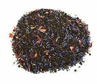 Чай чёрный ароматизированный Эрл Грей голубой цветок 250 гр