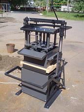 Стаціонарний верстат СКАТ для виробництва будівельних блоків, фото 3