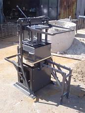 Стаціонарний верстат СКАТ для виробництва будівельних блоків, фото 2