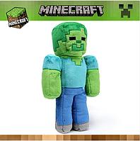 Мягкая игрушка Майнкрафт Стив зомби Minecraft
