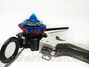 BeyBlade Xcalibur X4 B-120 / Бейблэйд Экскалибур Х4 / Икскалибур(красный с синим) И, фото 2