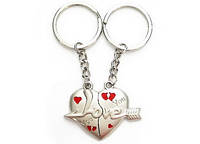 Парные брелки - Двойные брелоки - Сердце, фото 1