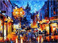 Раскраска по номерам Амстердам 1905 худ Афремов, Леонид (VPS075) 50х65 см