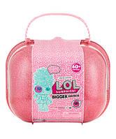 Куклы Лол ОРИГИНАЛ декодер в чемодане 60 сюрпризов / L.O.L. Surprise! Doll Bigger Surprise