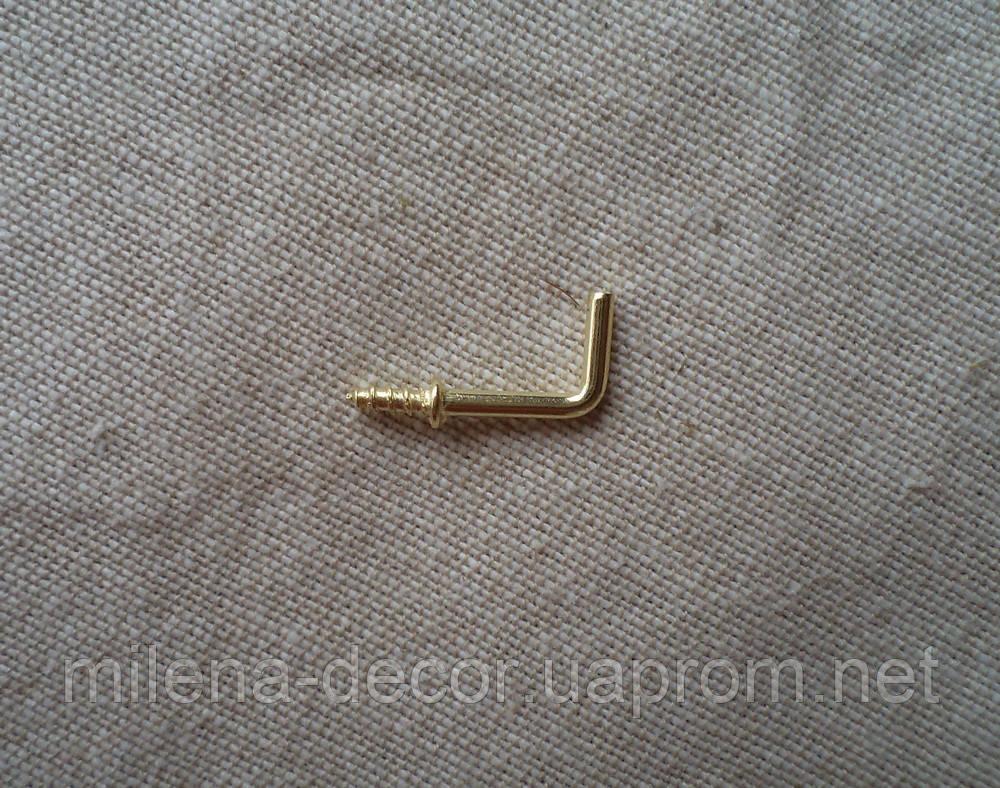 Крючок для ключницы (золото)
