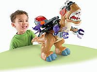 Большой интерактивный динозавр ТиРекс Фишер Прайс. Fisher-Price Imaginext Mega T-Rex, фото 1
