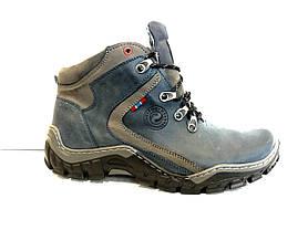Зимові чоловічі черевики натуральна шкіра Mario Boschetti, фото 3