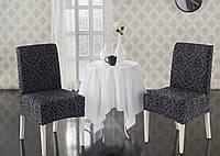 Чехлы для стульев жаккардовые