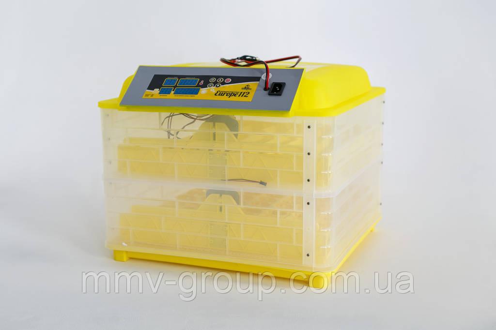 Инкубатор бытовой Теплуша Europe 112 автомат +12 в резервное питание