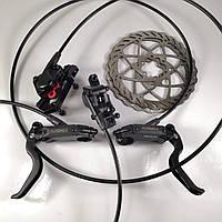 Тормоза гидравлические дисковые ALHONGA 160мм для велосипеда, фото 1
