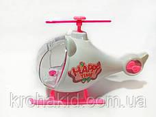 Игровой набор вертолет и музыкальная машина для кукол Лол  / Lol машина ТМ 925 / аналог, фото 3
