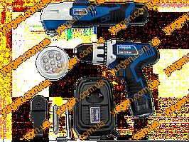 Набор аккумуляторный мультифункциональный Scheppach AKKU SET L1