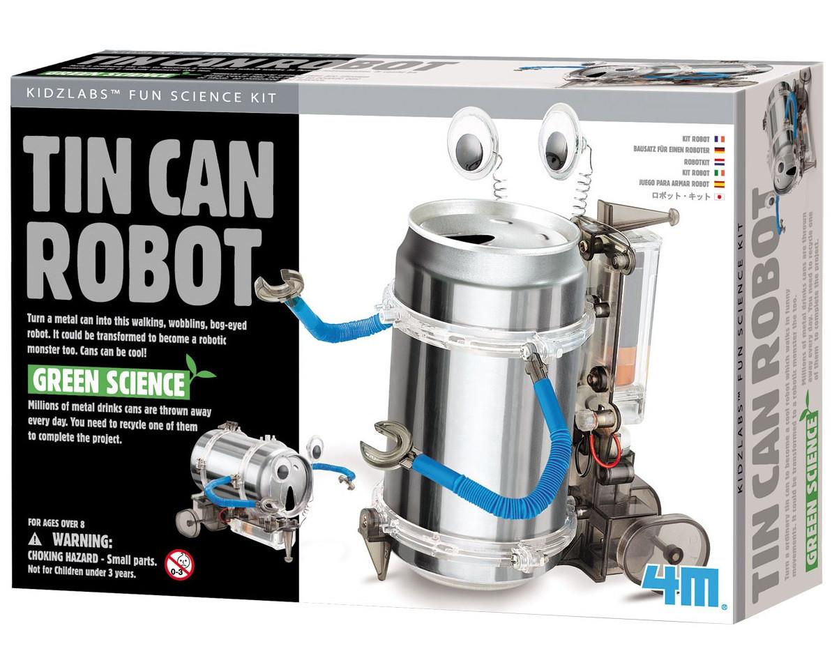 Набор для опытов Робот-жестянка 4M (00-03270)