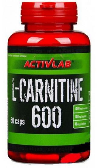 Жиросжигатель Activlab L-Carnitine 600 60 caps, Активлаб Л-Карнитин 600 60 капсул