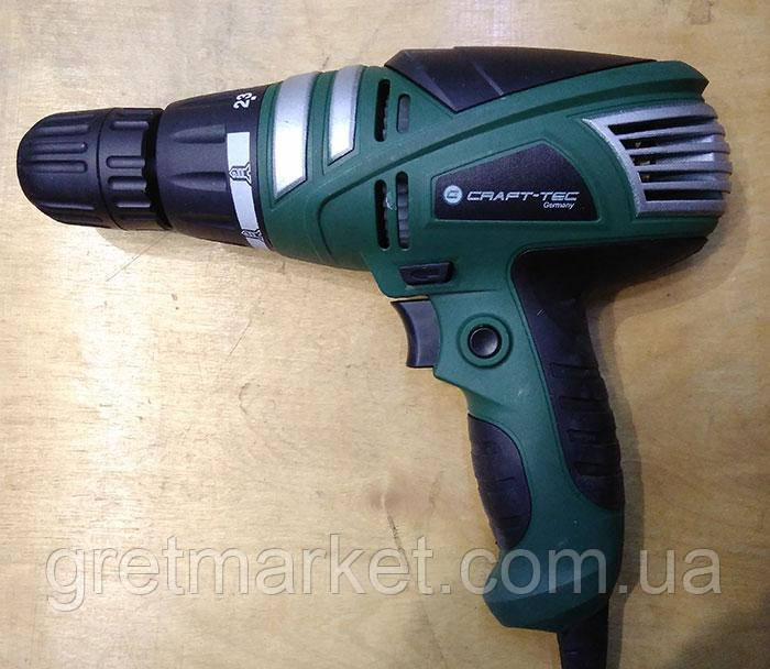 Мережевий шуруповерт Craft-tec PXSD-102 950Вт