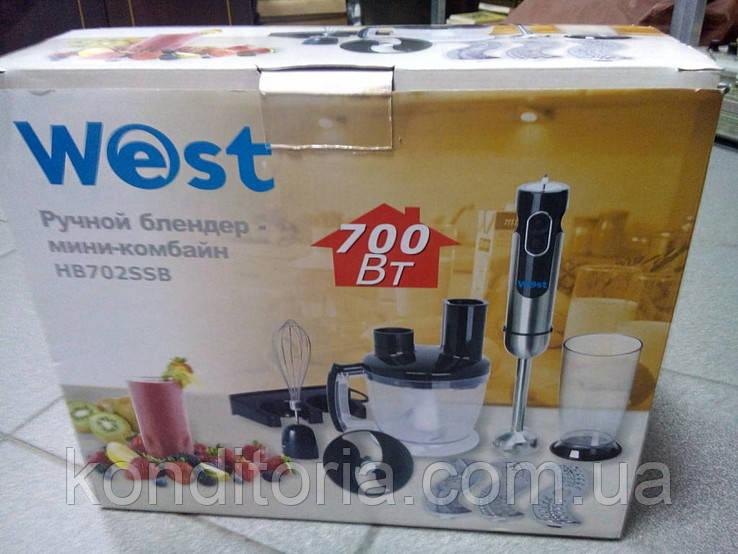 Блендер West HB702SSB