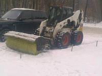 Уборка территории от снега, фото 1