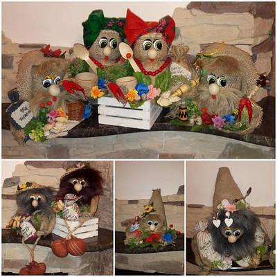 Українські обереги, домовики, мотанки, народні ляльки