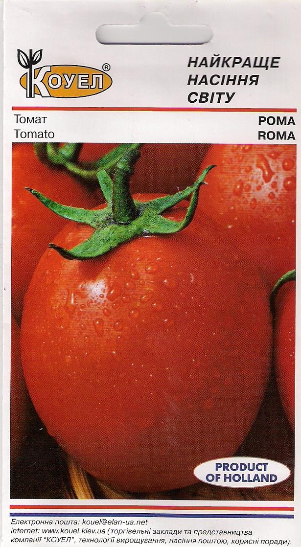 Насіння томату Кущової Рома 10 р. Голандія Кущова сливка