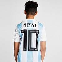 Детская футбольная форма  сборной Аргентины  (№10 Месси)
